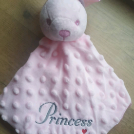 Personalised Embroidered Baby Comforter