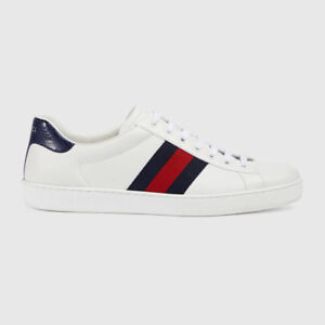 Gucci Ace Leather Low Cut Sneaker Shoes . Any Size . New