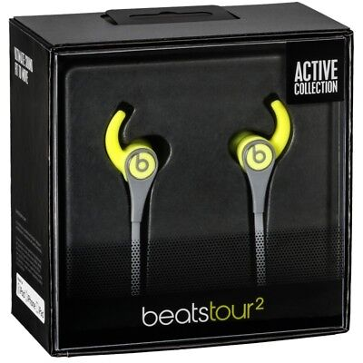 Beats Tour2 Wired In-Ear Headphone, NEW IN BOX, Yellow
