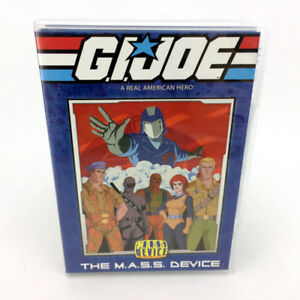 GI Joe The Mass Device DVD Season 1.1 Cartoon M.A.S.S.