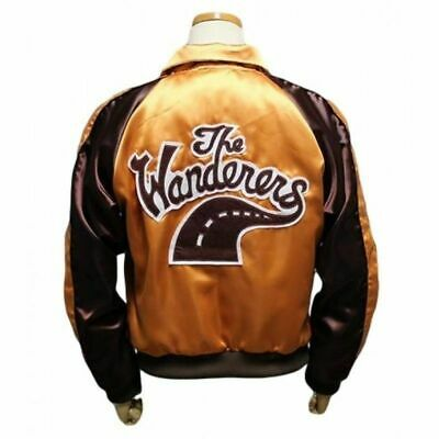 Halloween Movies Best (The Wanderers Movie Jacket Men's Varsity Letterman Jacket - Best For)