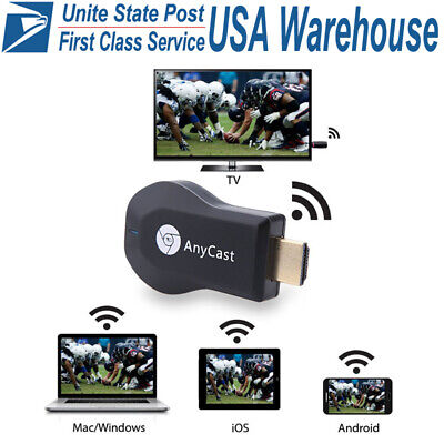 DLNA WiFi Miracast TV Dongle HDMI Multi-Display 1080P Receiver Air Mirror Stick