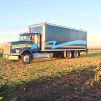 24ft Reefer truck for hire.