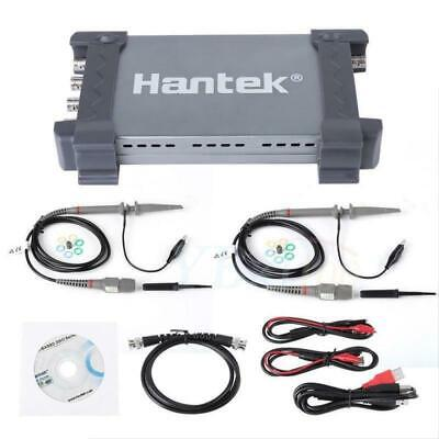 Hantek 6204bd 4ch Pc 200mhz Oscilloscope 1gsas Usb Pc 25mhz Signal Generator