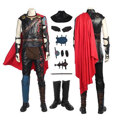 Top Grade Thor 3 Ragnarok Thor Odinson Cosplay Costume Handmade](Movie Grade Costumes)