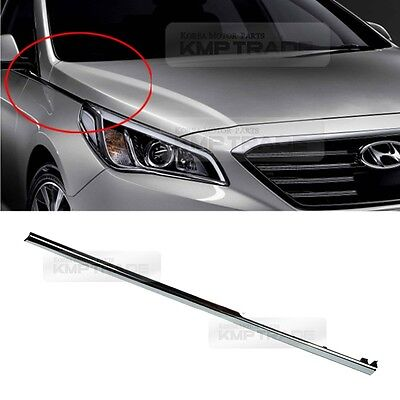 OEM Genuine Parts Front Fender chrome Molding Right for HYUNDAI 15-17 LF Sonata