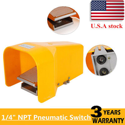 Pneumatic Foot Pedal Valve 14 Ports 5 Way 2 Position Manual Acting 4f210-08g