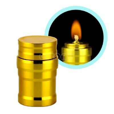 Vintage Alcohol Burner Lamp Aluminum Case Lab Equipment Heating 10ml Mini