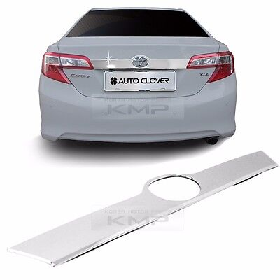 Set of 1 by Sizver Chrome Rear Accent Trim for 2012-2014 Toyota Camry