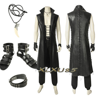 Devil May Cry 5 V Cosplay Costume Vitale Halloween Customize Shoes Leather Suit - Devil Suit Costume