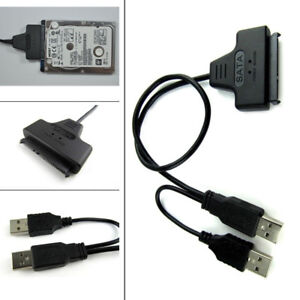 "For Sell SATA to USB 2.0 Adapter Cable 2.5"" inch HDD Laptop"