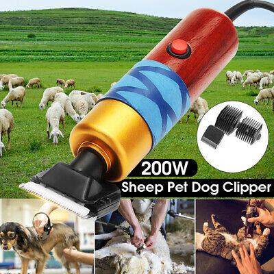 200w 12v Electric Farm Supplies Sheep Goat Animal Pet Grooming Shearing Clipper