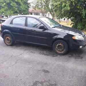 Chevrolet Optra. 4cyl. 5 speed manual transmission