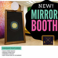 ✨MAGIC MIRROR✨photobooth PROMO package 490$  cabine photo booth