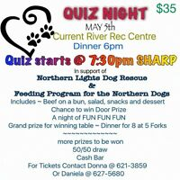 Quiz Night!  Prizes, food, fun and more..