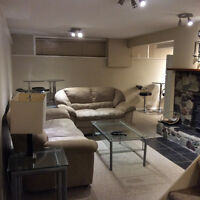 Furnished 2 Basement Suite