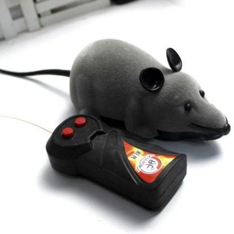 Elektronische Ratte Maus Katzen Hunde Beschäftigung Spielzeug mit Fernbedienung Spielzeug Haustierbedarf