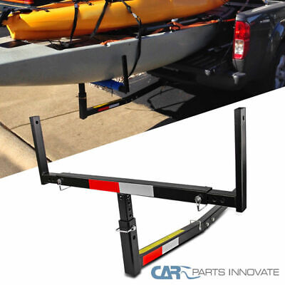 New Hitch Pickup Truck Bed Extended Extension Rack Lumber Long Load