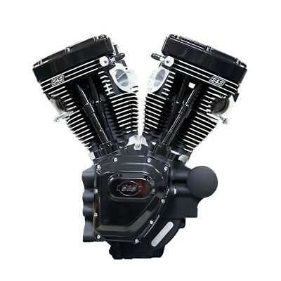T124 S&S CYCLE TWIN CAM HD ENGINE BLACK EDITION 07+ TOURING 585 CAMS