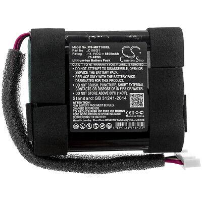 Batterie Li-ion 11.1V 6800mAh type C196G1 Pour Marshall Tufton