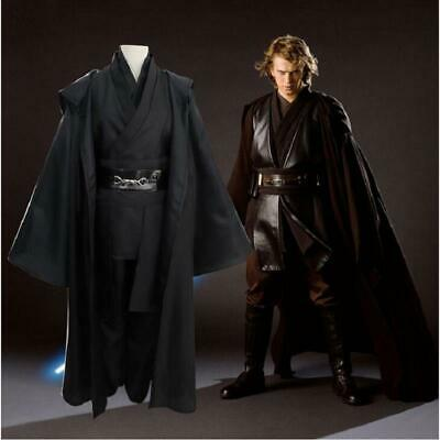 Star Wars Anakin Skywalker Cosplay Jedi Knight Costume Cloak Men Fancy Dress - Skywalker Costume