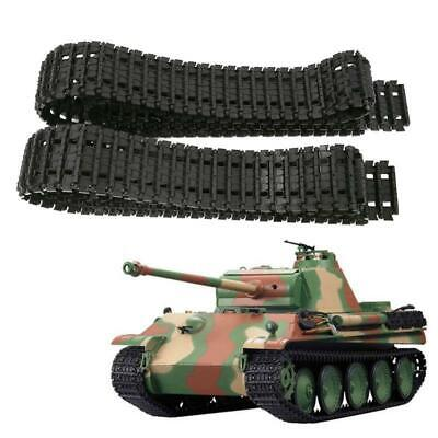 Shock Absorption Tank Plastic Track Belt Car Chassis Chain Wheel Robot