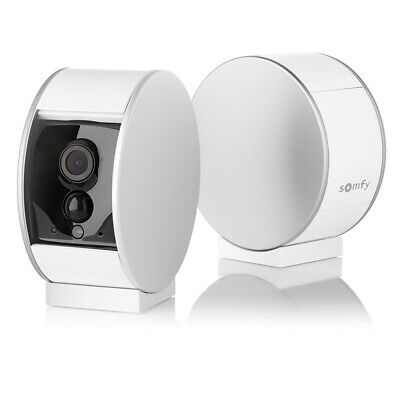 Somfy Smart Indoor HD Security Camera, Night Vision, Motion Detection, Brand New