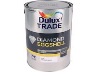 APPROX 30 GALLEN OF DULUX DIAMOND EGGSHELL GLOSS AND UNDERCOAT IN THE HERITAGE COLOURS