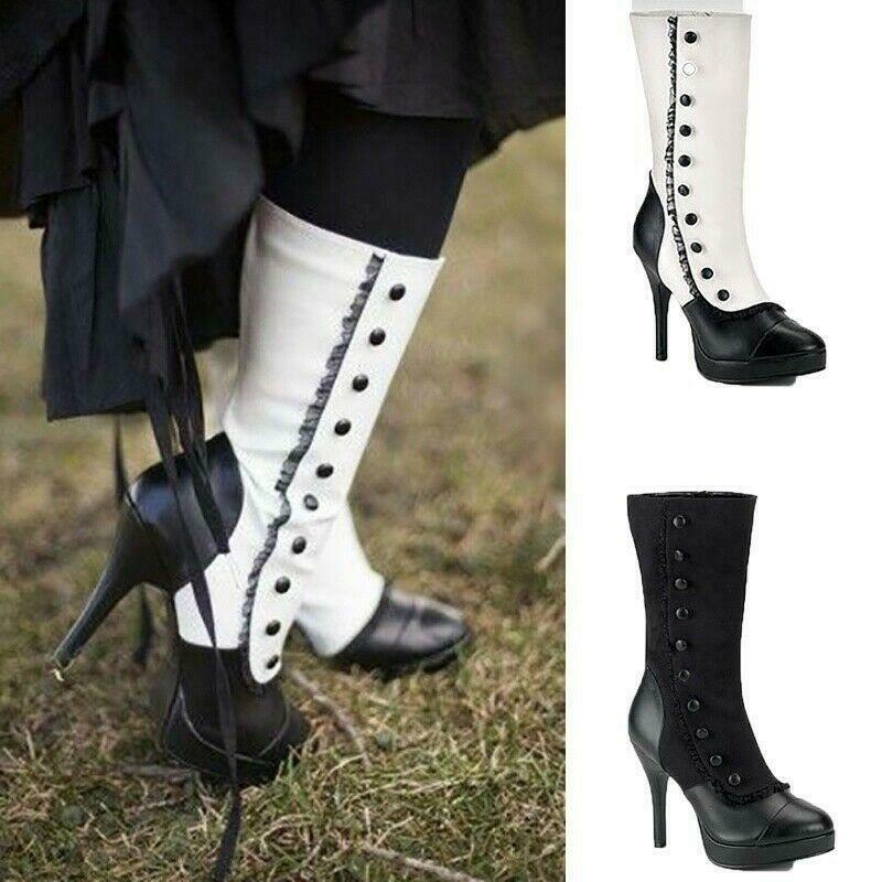 Gothic Lolita Cosplay Boots