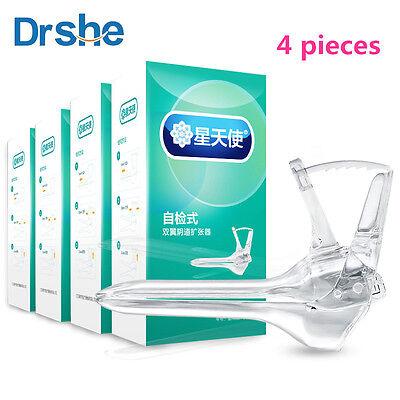 4pcs Plastic Disposable Vaginal Speculum Medical Silicone Specula Large Sizes M