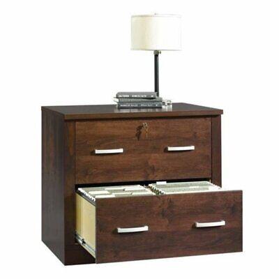 Bowery Hill 2 Drawer File Cabinet In Dark Alder