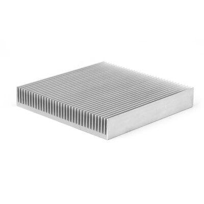 1pc Aluminum Heat Sink Radiator Heatsink For Ic Led Electronic Chipset Heat