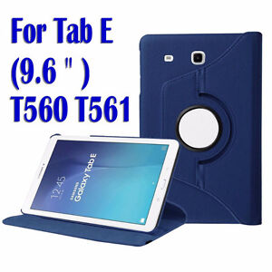 SMART PU Leather 360° Rotating Samsung Galaxy Tab E 9.6""