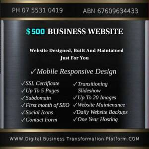 ✅ Website Development with Hosting and SSL ⭐ Only $500 Annually