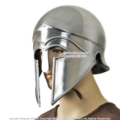 Spartan Griechische Korinthische Helm Kostüm Armour Larp mit - Griechischen Helm Kostüme