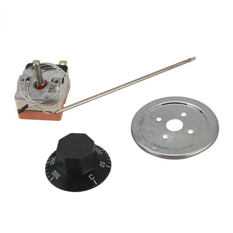 50 to 300 degrees NC capillary thermostat temperature control oven T3E8