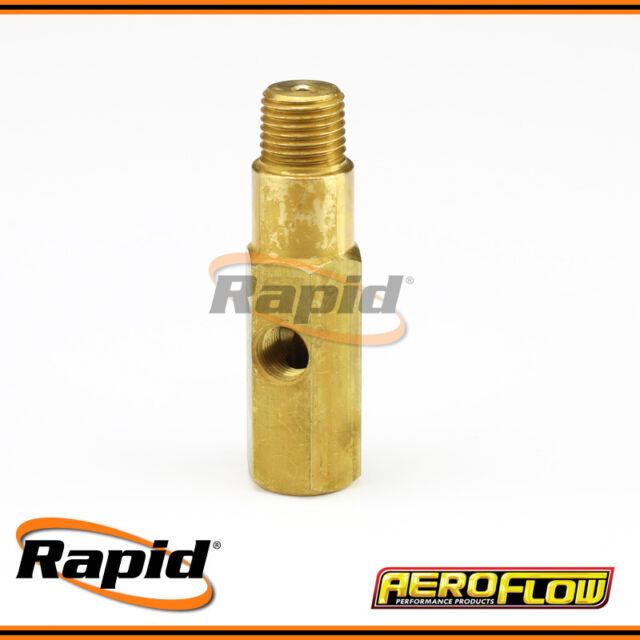 """1/4"""" Oil Pressure Gauge Adapter Aeroflow AFGA-32"""