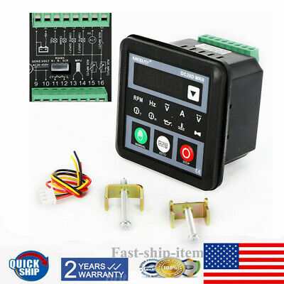 5pc Dc20d Mkii Genset Controller Module For Dieselgasoline Engine Generator