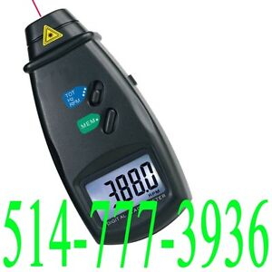 Laser Tachometer RPM Meter Probe Sonde Motor Shaft Speed Tester