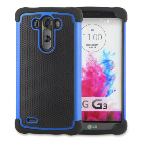 Shock Proof dual defender case cover for LG G2 / G3 Mini / G3 + touch pen