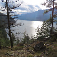 Beautiful private waterfront acreage for sale on Kootenay Lake