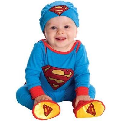 Superman Costume Baby (Superman Infant Boys Halloween Costume, Dress-Up,)