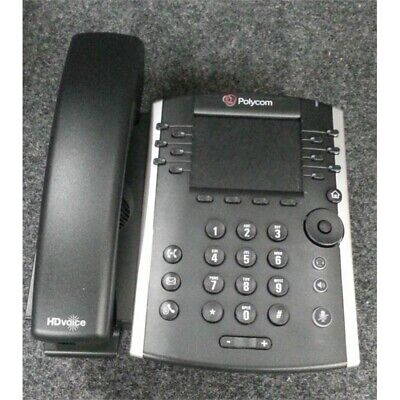 Polycom VVX410 Corded VoIP Telephone 12 Lines, 3.5