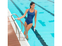 2x Ladies Swimming Costumes size 46 (UK 18)