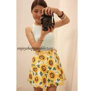 Sunflower Print Skirt