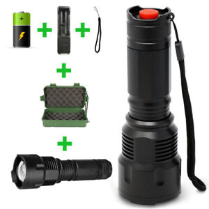LED Flash Light with free Rechargeable Battery 1000 Lumens