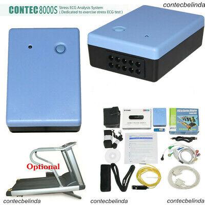 Contec Wireless Stress Ecg Ekg Pc Systemanalysis Software 12 Leads Contec8000s