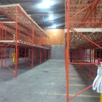 Installation of Warehouse Racking system