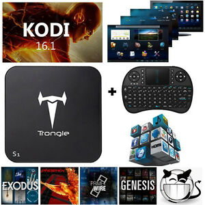 Android TV BOX Analogic S905 4K support Keyboard/Mouse included