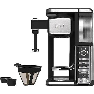 Ninja Solitary Serve, Pod Free Coffee Bar Machine with Frother